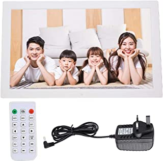 Album, Electronic Calendar Picture Frame LED Support Storage Cards USB Drives Support MP3/AV/MPG/MP4 Format for Family and...