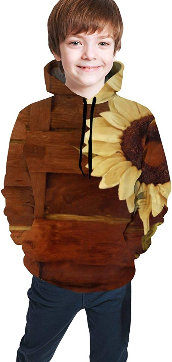 NiYoung Boys Girls Fashion 3D Printed Hoodie Pullover Casual Sweatshirt Outwear
