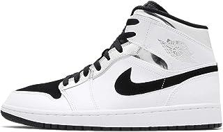 [ナイキ] ジョーダン エアジョーダン 1 ミッド メンズ バスケットボール シューズ Air Jordan 1 Mid 554724-121 [並行輸入品]