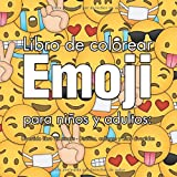 Libro de colorear Emoji para niños y adultos: Divertido libro de emojis - Diseños, collages y citas divertidas