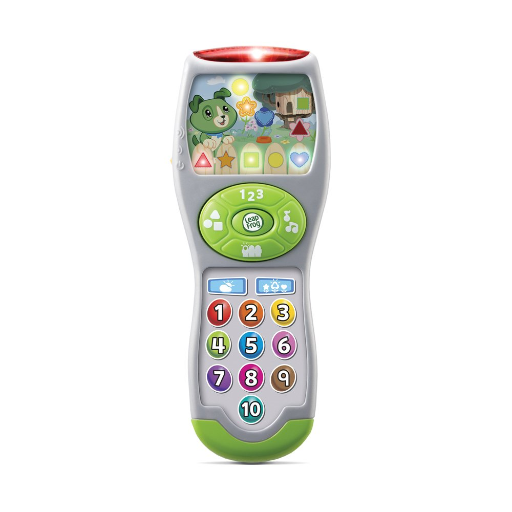 LeapFrog Scouts Learning Lights Remote, Great Gift For Kids, Toddlers, Toy for Boys and Girls, Ages Infant, 1, 2, 3