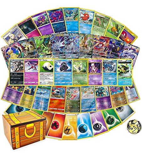 100 Assorted Cards: Features 1 GX, …