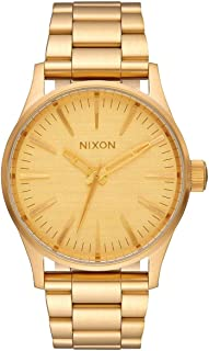 Nixon Sentry 38 SS A450. 100m Water Resistant Men's Watch (38mm Watch Case. 21-18mm Stainless Steel Band)