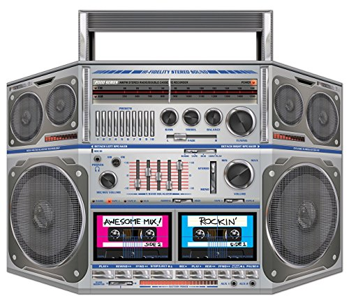 Boom Box Stand-Up Party Accessory (1 count) (1/Pkg)