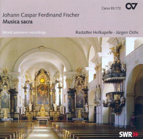Fischer, J.C.F.: Jubilate Deo / Missa Sancti Dominici / Vesperae, Seu Psalmi Vespertini / Lytaniae Lauretanae (Rastatter Hofkapelle, Ochs)