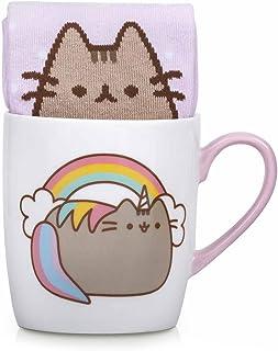 Thumbs Up Enhörning en strumpa i en kopp, keramik, flerfärgad