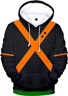 Academia Heroes Thick Hoodie Hooded Sweatshirt Pullover