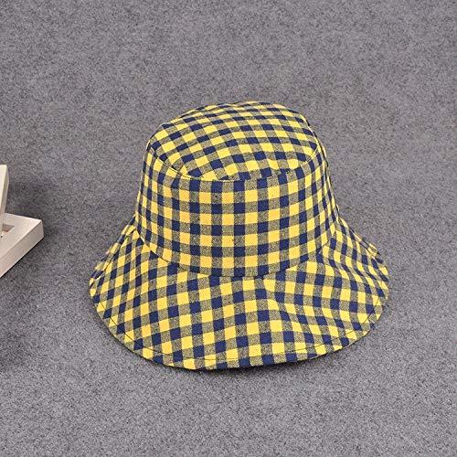 ZHAONAA Outdoor-Freizeitmütze Kunst-Liebhaber Wilde Lässig Plaidhut Becken Größe: M (56-58cm) Mode Wilden Hut (Color : A, Size : M) - 2
