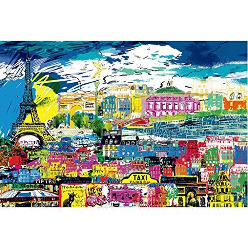 Puzzels 1000/2000 Stuks, Stedelijke Graffiti, Familiepuzzels, Educatieve Spelletjes, Puzzels Voor Volwassenen Met Mentale Uitdagingen Voor Kinderen -P4.27 (Size : 1000 pieces)