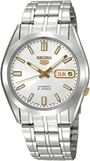 Seiko Dress Watch Analog Display Mechanical For Men Snke81J1 (White)