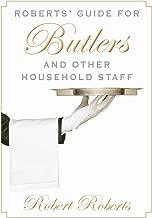 دليل روبرتس 'butlers المنزلية وغيرها من الموظفين