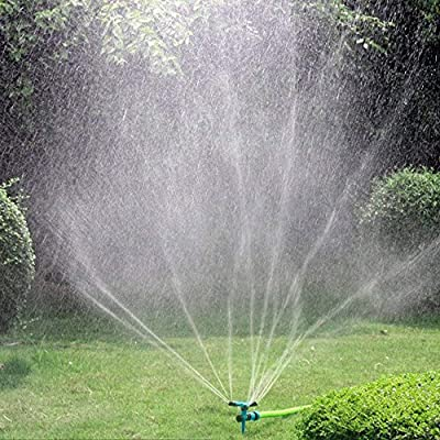 Garden Sprinkler for Yard, Lawn Rotating Sprink...