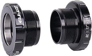 ZTTO BSA30 BB68 BSA 68 73 MTB Road bike External Bearing Bottom Brackets for BB Rotor Raceface SLK BB386 30mm Crankset(black)