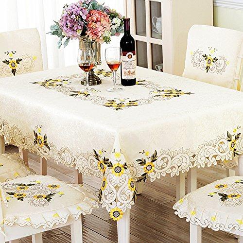 Tafelkleden bedrukt keukentafel doek vintage vierkant tafelkleed zware stof tafelkleed geruit tafelkleed 85x85cm(33x33inch) B