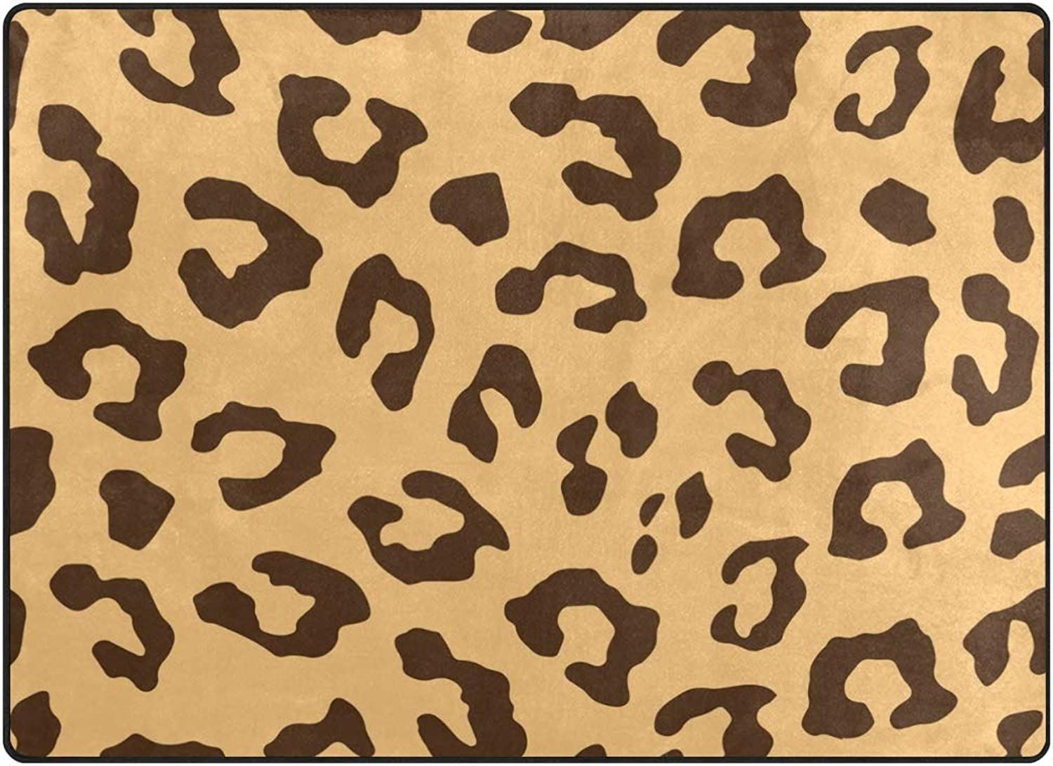 FAJRO Stylish Leopard Print Rugs for entryway Doormat Area Rug Multipattern Door Mat shoes Scraper Home Dec Anti-Slip Indoor Outdoor
