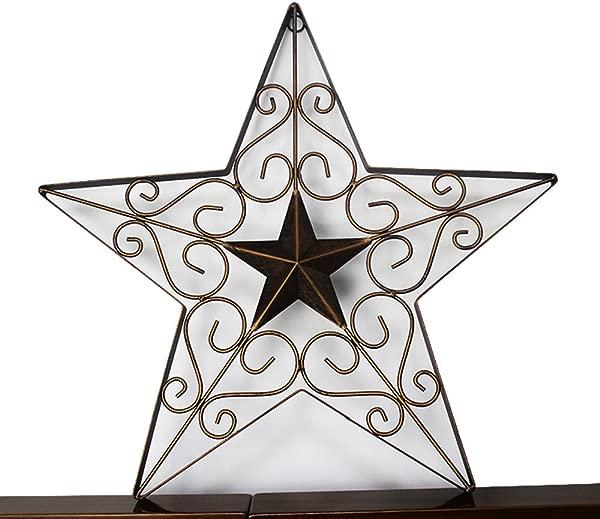 德州金属谷仓明星西墙 D Cor 复古乡村手工家居装饰 1836 孤州