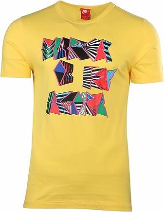 Nike Men's Futuro Bruno Brasil Soccer T-Shirt-yellow-XL