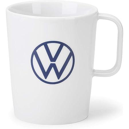 Volkswagen 000069601bq Tasse Becher Kaffeetasse Porzellan Weiß Mit Vw Logo Auto