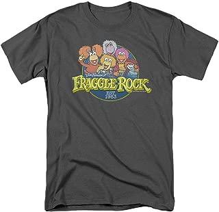 Fraggle Rock Cartoon Cast T Shirt & Stickers