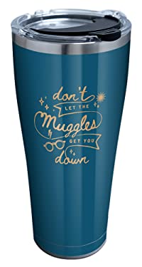 Tervis Harry Potter - Don't Let Muggles Get You Down Insulated Tumbler, 30oz, Stainless Steel