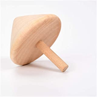 AQHXLS Spinning Tops for Kids, Wooden Traditional Nostalgic Toys, Interactive Spinning Tops for Kindergarten