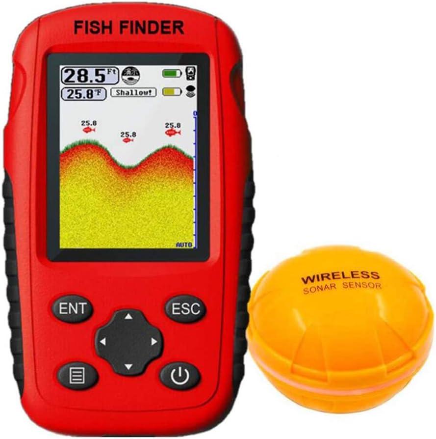 ZDZHU Fish Finder Max 48% OFF Wireless Handheld Portable Seattle Mall Remote