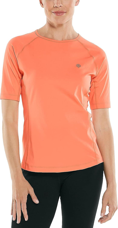 Coolibar UPF 50+ Women's Hightide OFFicial mail Memphis Mall order Short Swim Shirt - Sun Sleeve