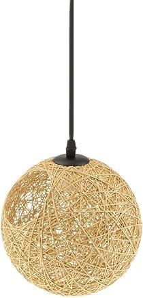 Amazon.es: pantalla lampara techo - Bambú / Iluminación de ...