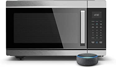 Introducing Amazon Smart Oven - 4-in-1 convection oven, microwave, air fryer, and food warmer, Works with Alexa – A Certified for Humans Device
