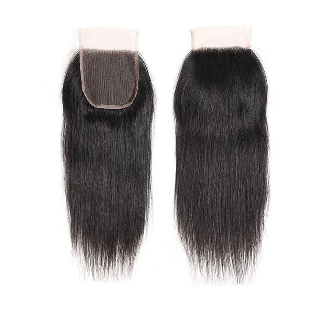 EREE HAIR 4X4 Lace Max 82% OFF Closure Hair Human Free shipping Straight Peruvian