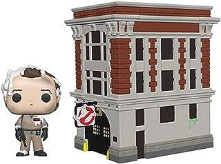 Funko Pop! Ghostbusters (Os Caça-Fantasmas) - Dr. Peter Venkman witg Firehouse (Quartel de Bombeiros) #03