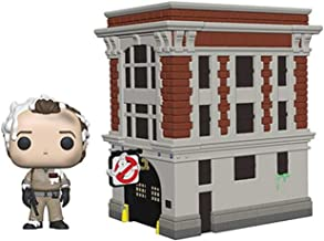 Funko 39454 POP Town: Ghostbusters-Peter with House Collectible Figure, Multicolour