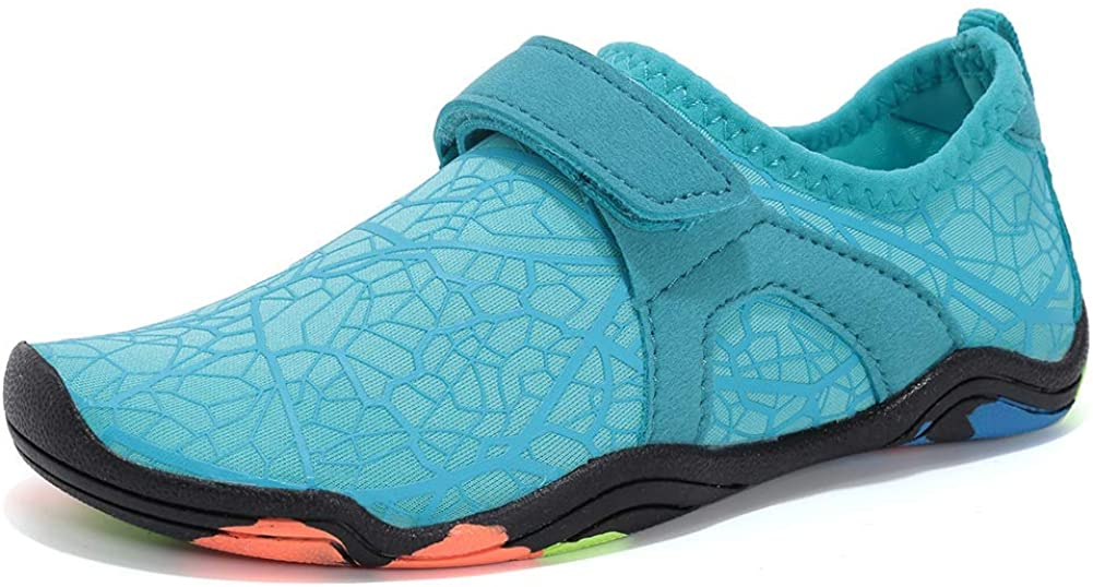 CIOR Boys & Girls Water Shoes Quick Drying Sports Aqua Athletic Sneakers Lightweight Sport Shoes(Toddler/Little Kid/Big Kid)