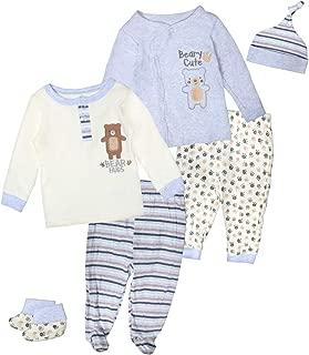 Baby Boys & Girls 6-Piece Cap, Shirt, and Pants Sets