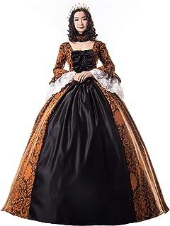 Renaissance Queen Elizabeth I/Tudor Gothic Jacquard Fantasy Dress Game of Thrones Gown Halloween Costumes