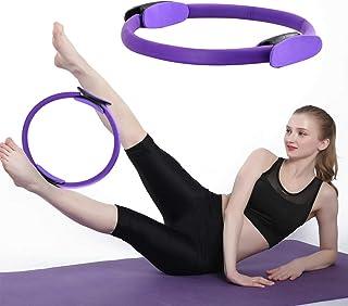 Yoga et la r/ésistance SIKOYA Anneau de Pilates Anneau de Fitness Magic Circle sculpter Le Corps tonifier lint/érieur des Cuisses Parfait pour Pilates