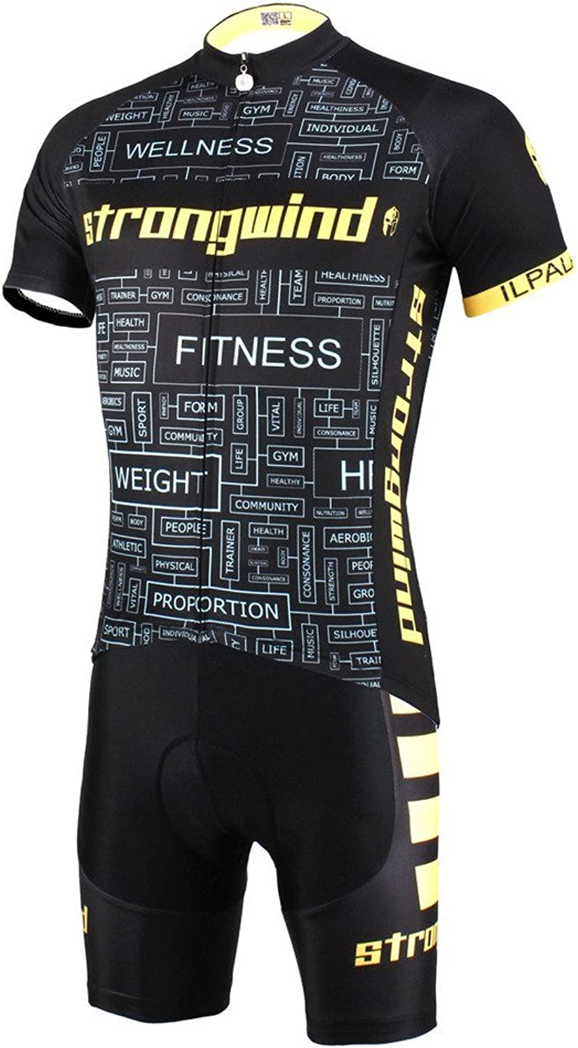 LAOYOU Strong Wind Mens Cycling Jersey Size S To 6XL