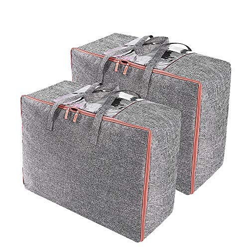 Kleidung,Kissen und mehr 100 x 50 x 15 cm Ubagoo Unterbettkommode Staubfreie feuchtigkeitsbest/ändig Kleideraufbewahrung atmungsaktive Aufbewahrungstasche f/ür Bettw/äsche,Decken