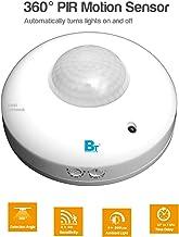 Blackt Electrotech 360 Degree PIR Motion Sensor with Light Sensor (Ceiling Mounted, White)