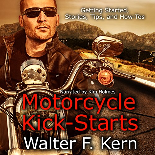 Motorcycle Kick-Starts audiobook cover art