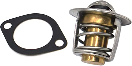 Disen parts Thermostat with Gasket 15531-73013 15531-73014 for Kubota Mower G3200 G4200 G4200H G5200H G6200H ZD18F T1600H ...