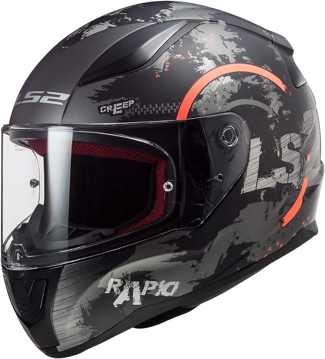 LS2 Helmets Full Face Street Rapid Max 45% OFF Cheap SALE Start Helmet
