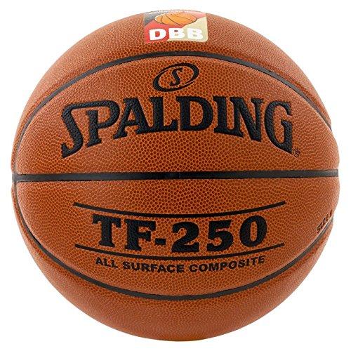 Spalding Basketball TF250 DBB In/Out 74-593z, Orange, 6