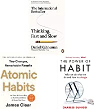 Thinking, Fast and Slow + Atomic Habits + The Power Of Habit