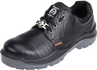 ACME Ketone Leather Safety Shoes Black (Size - ACME008_42)