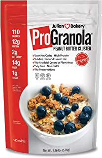 ProGranola® 12g Protein : Peanut Butter Cluster : (Low Net Carb : Gluten-Free : Grain-Free)(3 Pack) (42 Servings)