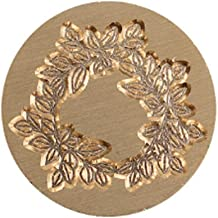 Kwaliteits zegellak 1pc retro antieke metalen plant afdichting wax afdichting stempel voor diy bruiloft uitnodigingen deco...