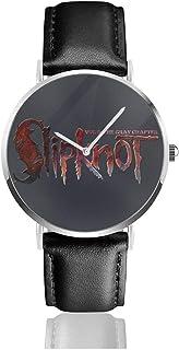 腕時計 メンズ レディース Slipknot 生活防水 ファッション 超薄型 軽量 男女兼用 クォーツ時計 父の日 プレゼント