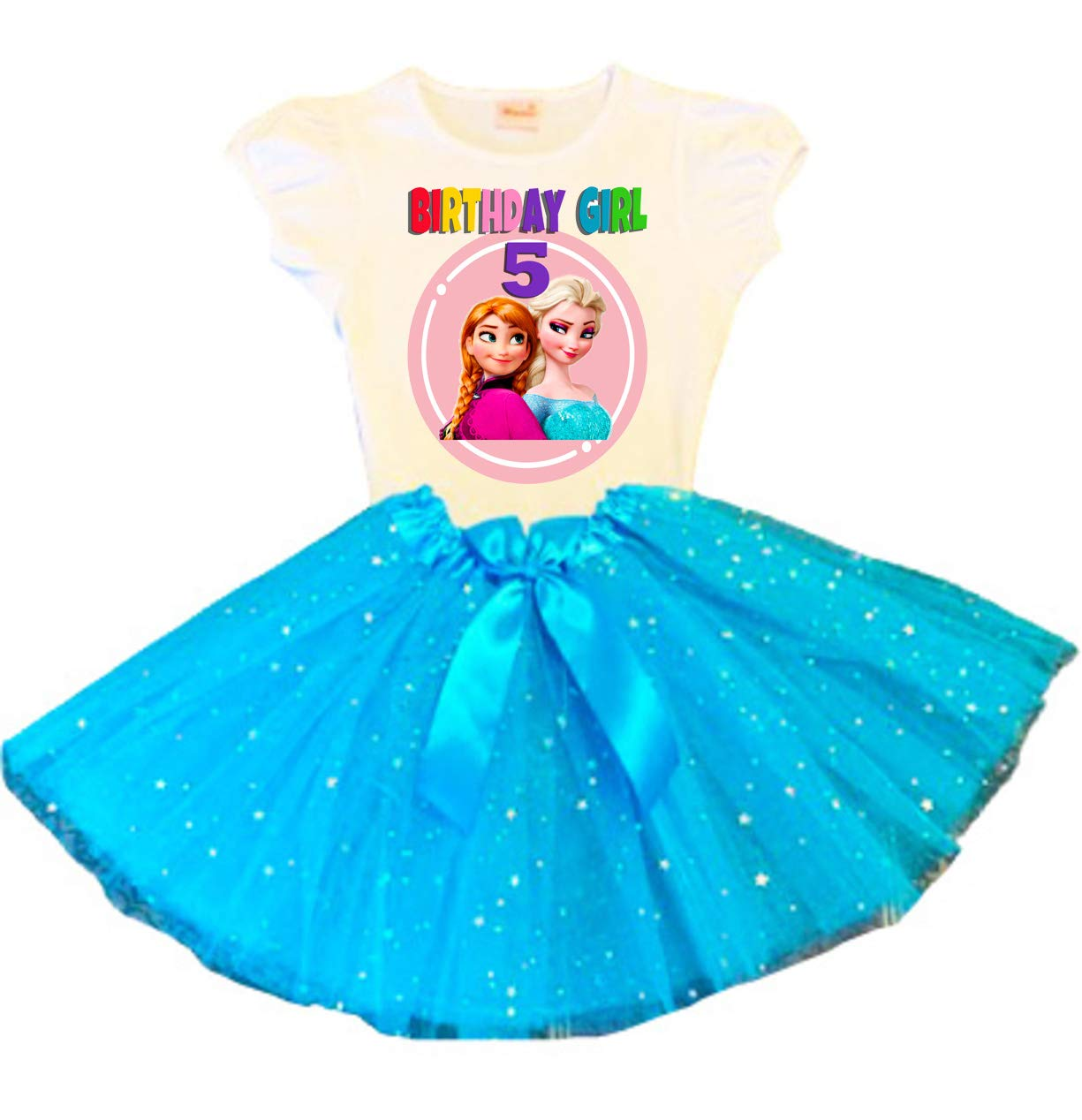 Frozen Elsa Anna 4 years warranty Birthday Tutu 5th Party Dress Ranking TOP17 Turquo