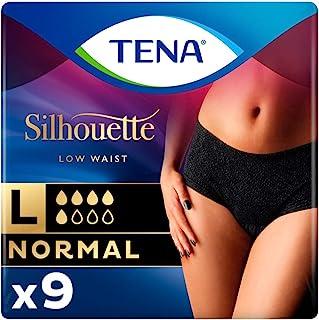 TENA Silhouette normal Noir inkontinans iç çamaşırı, beden L